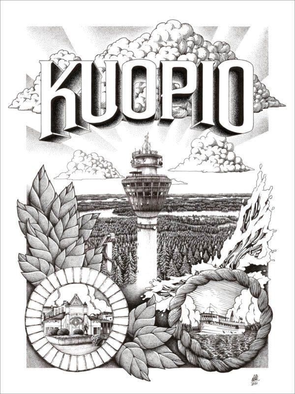 Kuopio-juliste